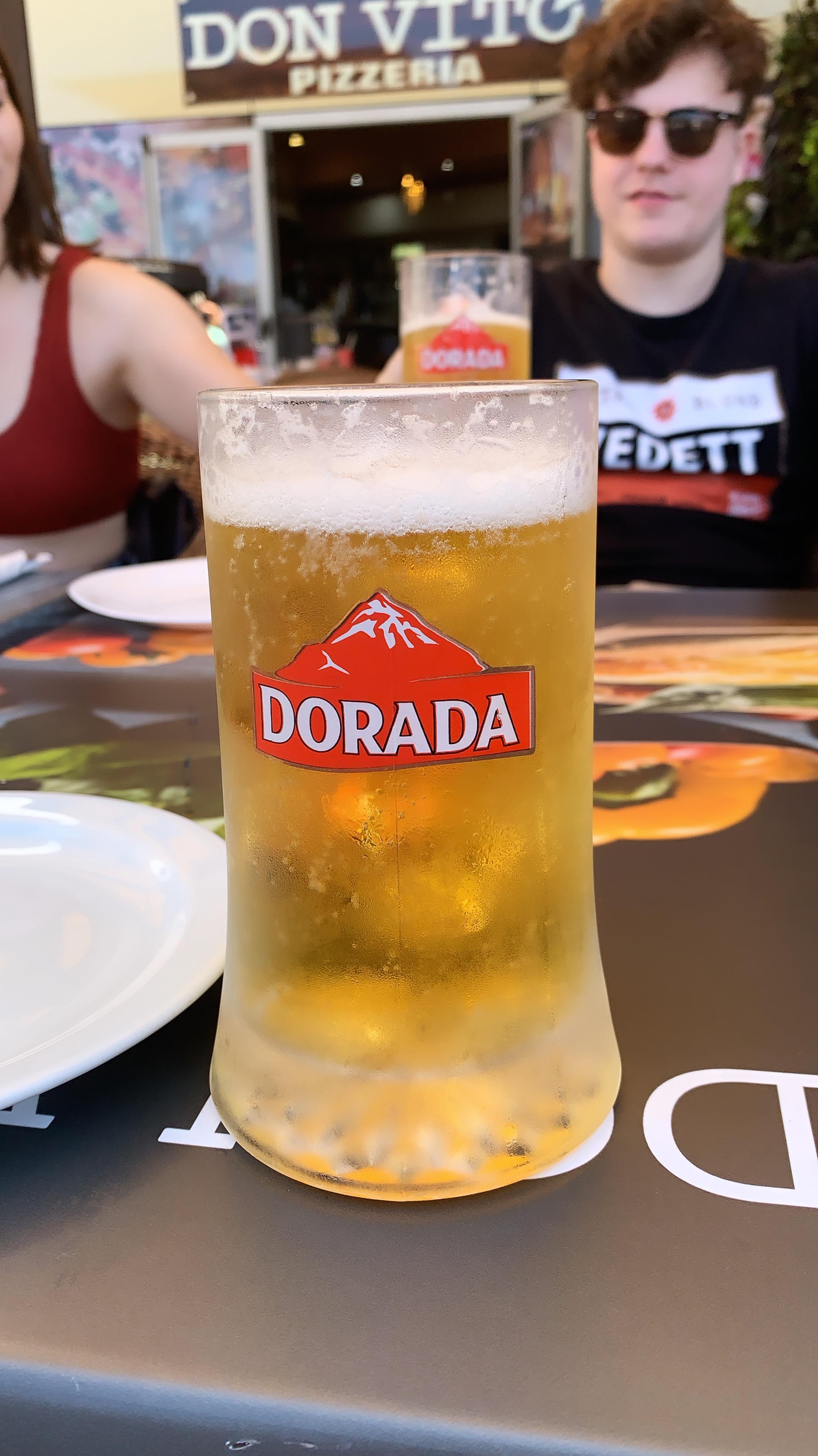 Dorada beer Tenerife