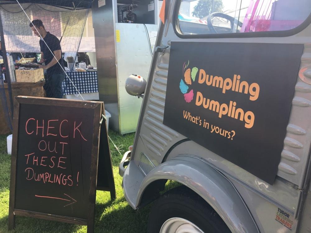 Dumpling Dumpling at Lymington Seafood Festival