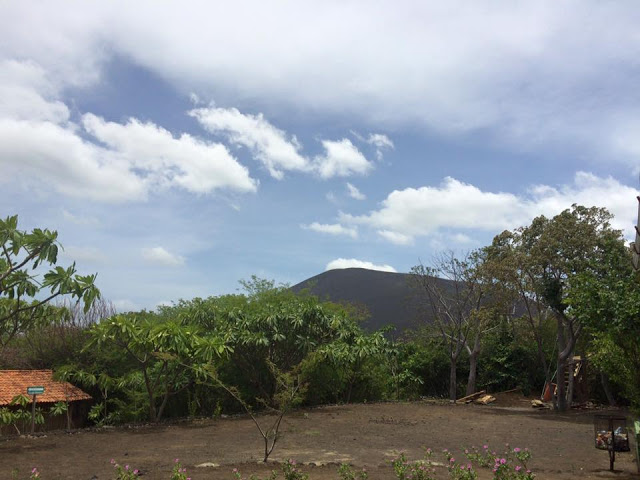 Volcano boarding at Cerro Negro, Nicaragua