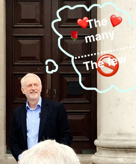 Jeremy Corbyn - for the many, not the few - Southampton Guildhall