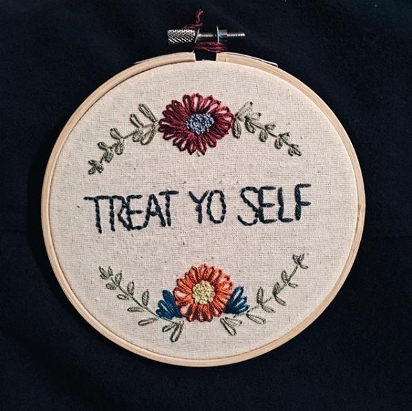 Actually no, don't treat yo self