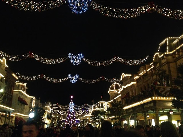 Christmas at Disneyland!