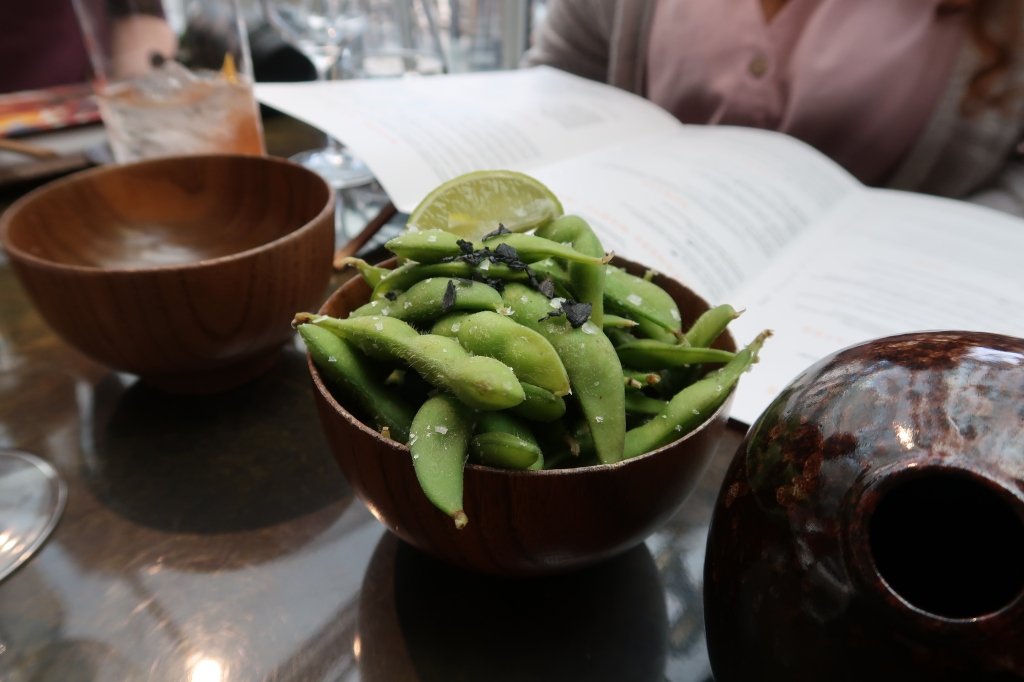 Edamame at SUSHISAMBA, Covent Garden, London