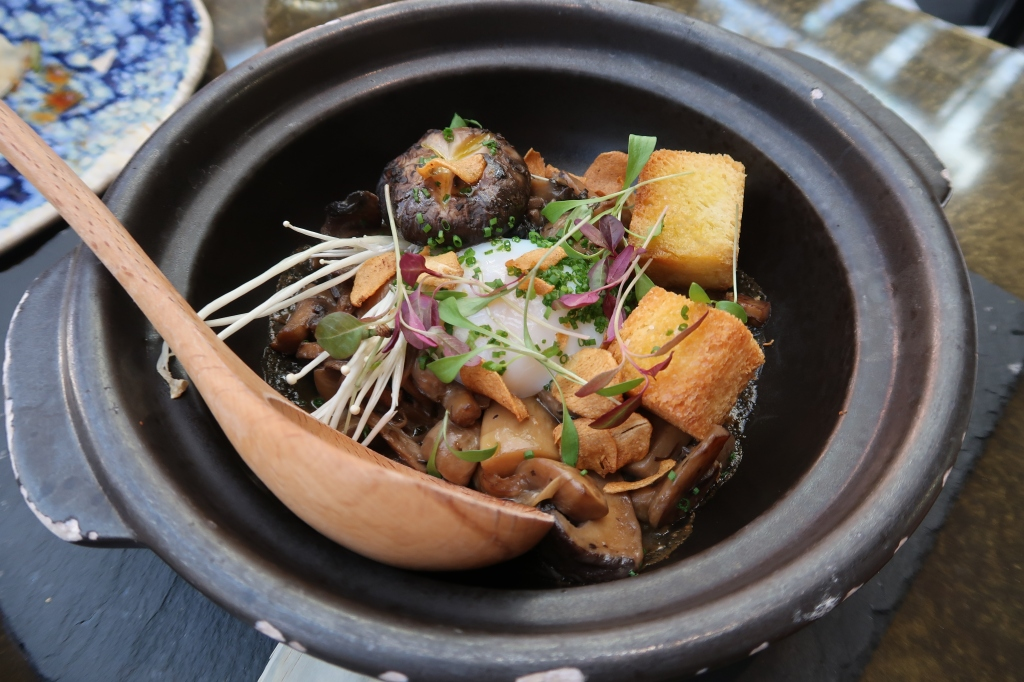 Mushroom tobanyaki at SUSHISAMBA, Covent Garden, London